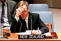 Gerard Van Bohemen, New Zealand permanent representative to U.N. attends a meeting with Members of the Security Council related to the precarious security situation in Mali, at the United Nations Headquarter in New York, 01/11/2016 Photo by VIEWpress