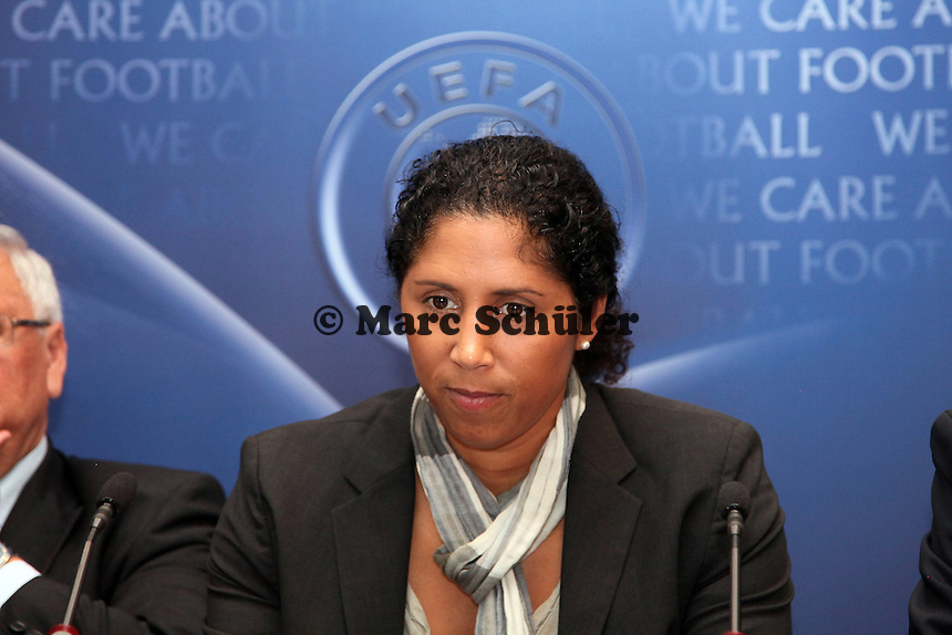 UEFA Botschafterin Frauenfussball Steffi Jones