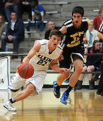 Boys basketball: Elkins vs. Haas Hall