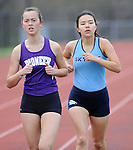 4-19-16, Skyline High School vs Pioneer High School boy's and girl's track