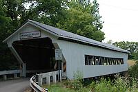 Brubaker Covered Bridge, Built 1887