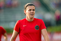 Boston, MA - Sunday September 10, 2017: Christine Sinclair during a regular season National Women's Soccer League (NWSL) match between the Boston Breakers and Portland Thorns FC at Jordan Field.