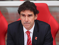 Nottingham Forest's Manager Mark Aitor Karanka<br /> <br /> Photographer Mick Walker/CameraSport<br /> <br /> The EFL Sky Bet Championship - Nottingham Forest v West Bromwich Albion - Tuesday August 7th 2018 - The City Ground - Nottingham<br /> <br /> World Copyright &copy; 2018 CameraSport. All rights reserved. 43 Linden Ave. Countesthorpe. Leicester. England. LE8 5PG - Tel: +44 (0) 116 277 4147 - admin@camerasport.com - www.camerasport.com