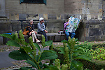 Lost in the DomKerk, Garden, Utrecht, Netherlands