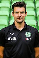 GRONINGEN - Voetbal, Presentatie FC Groningen,  seizoen 2018-2019, 17-07-2018, Wouter van den Berg ( manueel therapeut)