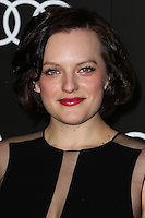 LOS ANGELES, CA - JANUARY 09: Elisabeth Moss at the Audi Golden Globe Awards 2014 Cocktail Party held at Cecconi's Restaurant on January 9, 2014 in Los Angeles, California. (Photo by Xavier Collin/Celebrity Monitor)