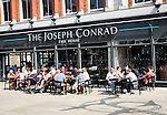 The Joseph Conrad free house public house, part of the Wetherspoons pub chain in Lowestoft, Suffolk, England