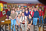 Gerry O'Sullivan, Pinewood Estate, Killarney, pictured with his daughters Kerrie, Peig, Jacqui, son David, family and friends as he celebrated his 60th birthday in Corkerys Bar, KIllarney on Saturday night...