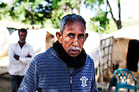 Greece/ Peloponnese/New Manolada.April 18,2013.33 migrant strawberry pickers from Bangladesh were shot because they wanted  to get paid in Manolada farm.Giorgos Moutafis