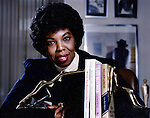 Advertising Agency owner Barbara Jordan of Chicago was cited in the presidential address of Ronald Reagan and becamae and instand celebrity after years of achievement running her own agency on the Miracle Mile.