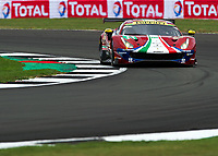 Davide Rigon (ITA), Sam Bird (GBR) of AF CORSE (ITA) during the 2018 Silverstone - FIA World Endurance Championship at Silverstone Circuit, Towcester, England on 17 August 2018. Photo by Vince  Mignott.