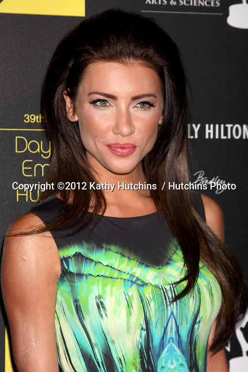 LOS ANGELES - JUN 23:  Jacqueline MacInnes Wood arrives at the 2012 Daytime Emmy Awards at Beverly Hilton Hotel on June 23, 2012 in Beverly Hills, CA