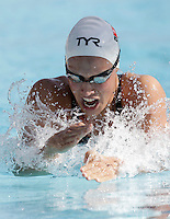 La danese Rikke Moller Pedersen vince i 200 metri rana donne durante la terza giornata del Trofeo Settecolli di nuoto al Foro Italico, Roma, 16 giugno 2012..Denmark's Rikke Moller Pedersen wins the Women's 200 meters Breaststroke during the third day of the Seven Hills swimming trophy in Rome, 16 june 2012..UPDATE IMAGES PRESS/Riccardo De Luca