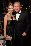 Elizabeth and Gary Petersen at the Ballet Ball at the Wortham Theater Saturday  Feb. 16,2008.(Dave Rossman/For the Chronicle)