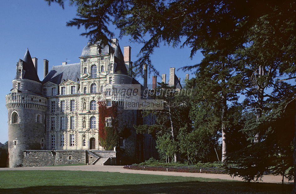 Europe/France/Pays de la Loire/Maine-et-Loire/Brissac : Le château de Brissac