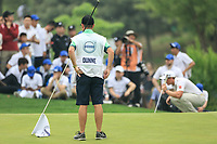 Paul Dunne (IRL) during the final round of the Volvo China Open played at Topwin Golf and Country Club, Huairou, Beijing, China 26-29 April 2018.<br /> 29/04/2018.<br /> Picture: Golffile | Phil Inglis<br /> <br /> <br /> All photo usage must carry mandatory copyright credit (&copy; Golffile | Phil Inglis)