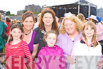 Eileen, Niamh O'Connor, Ann, Ciara McGillicuddy, Cait O'Connor and Jessica O'Leary Glenbeigh rocking the night away at the Pussycat Dolls Concert in Fitzgerald Stadium Killarney on Saturday.