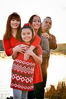 The Abundis Family at Benicia City Park and the Benicia State Park for their holiday portraits.