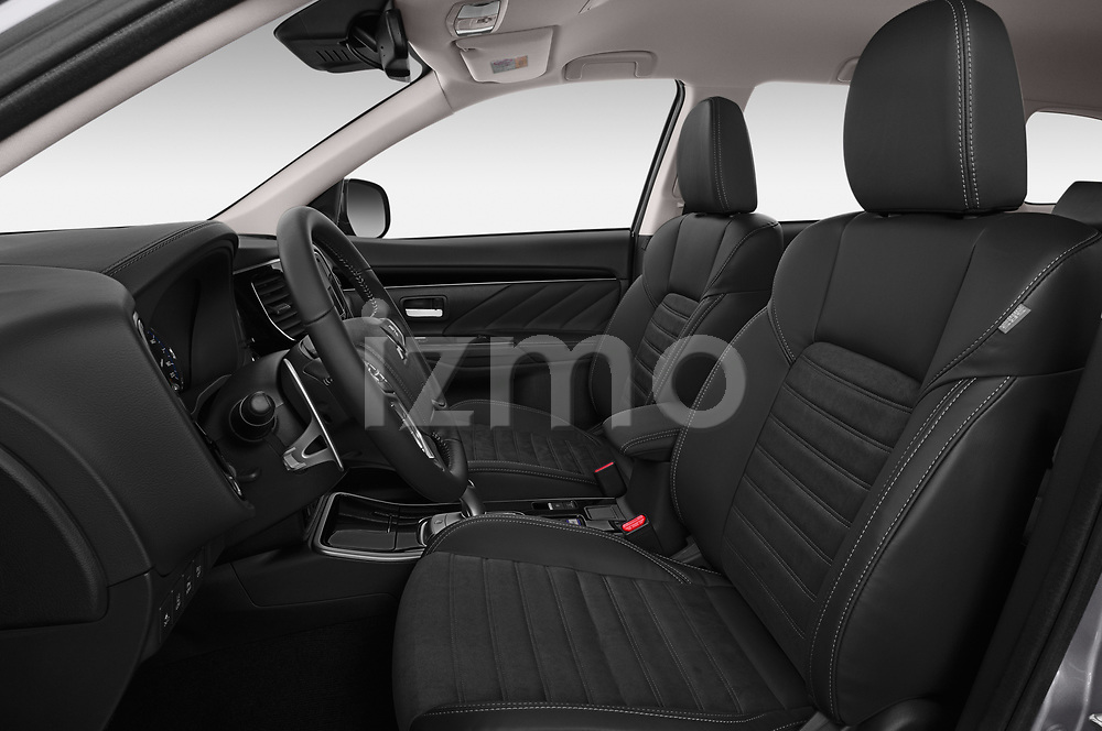 Front seat view of a 2019 Mitsubishi Outlander PHEV Intense 5 Door SUV front seat car photos