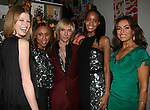 Heide Lindgren, Deborah Cox, Marc Bouwer, Georgianna Robertson and Lisa Robinson attend MARC BOUWER's EXCLUSIVE SCREENING of the FW2010 film starring CANDICE SWANEPOEL at the Leo Kesting Gallery, New York-  -February 18, 2010