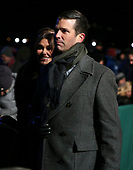 Donald Trump Jr. with his girlfriend Kimberly Guilfoyle attend the 2018 National Christmas Tree Lighting Ceremony at the Ellipse near the White House on November 28, 2018 in Washington, DC. <br /> Credit: Oliver Contreras / Pool via CNP