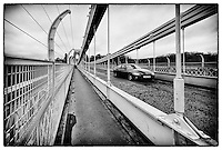 Looking across Clifton Suspension Bridge, Bristol.