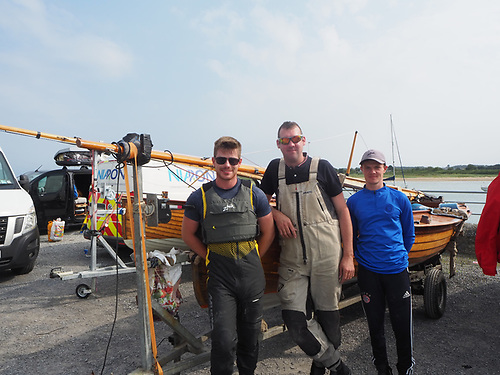 Third place went to Darragh Mc Cormack on 188 Innocence from Foynes Yacht Club with crew Tadhg O'Loinsigh and Brian Fox