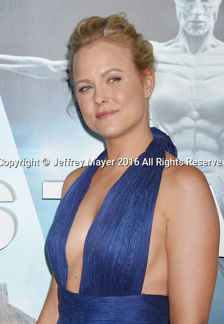 HOLLYWOOD, CA - SEPTEMBER 28: Actress Ingrid Bolsø Berdal attends the premiere of HBO's 'Westworld' at TCL Chinese Theater on September 28, 2016 in Hollywood, California.