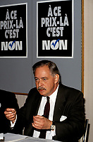 Jacques Parizeau and the NO campaign during the 1992 referendum