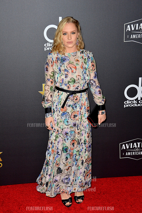 LOS ANGELES, CA. November 04, 2018: Annie Starke at the 22nd Annual Hollywood Film Awards at the Beverly Hilton Hotel.<br /> Picture: Paul Smith/Featureflash