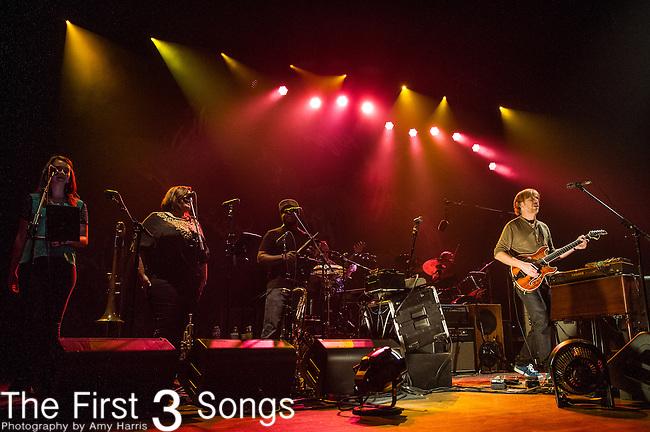 Trey Anastasio Band performs at the Taft Theatre in Cincinnati, Ohio.