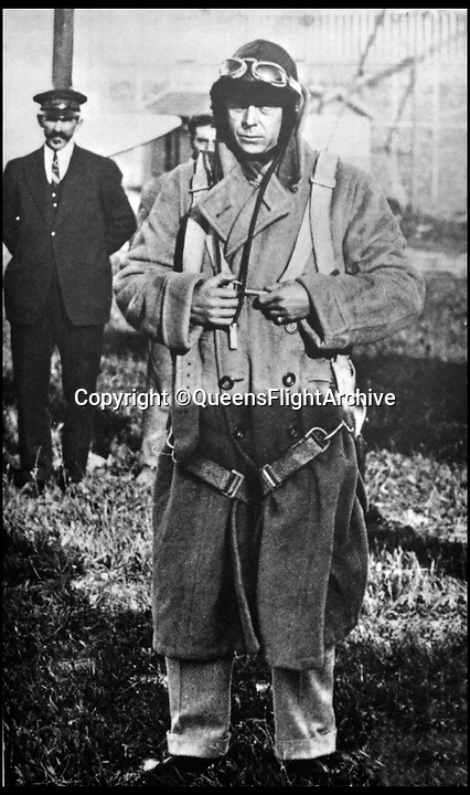 BNPS.co.uk (01202 558833)<br /> Pic: QueensFlightArchive<br /> <br /> Spartan Beginnings - Edward Prince of Wales had to don heavy flying kit and a parachute for his early Royal flights.<br /> <br /> A new book gives an intimate look behind the scenes of the Royal Flight and also the flying Royals.<br /> <br /> Starting in 1917 the book charts in pictures the 100 year evolution of first the King's Flight and then later the Queen's Flight as well as the Royal families passion for aviation.<br /> <br /> Author Keith Wilson has had unprecedented access to the Queen's Flight Archives to provide a fascinating insight into both Royal and aeronautical history.