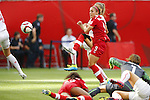 Josee Belanger (CAN), JUNE 21, 2015 - Football / Soccer : <br /> FIFA Women's World Cup Canada 2015 Round of 16 match between Canada 1-0 Switzerland at BC Place Stadium, <br /> Vancouver, Canada. (Photo by Yusuke Nakansihi/AFLO SPORT)