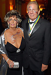 "Johnnye Schaper and Gordon Cridland at the San Luis Salute to ""The Italian Riviera"" at the Galveston Island Convention Center at the San Luis Friday  Feb. 20, 2009.(Dave Rossman/For the Chronicle)"