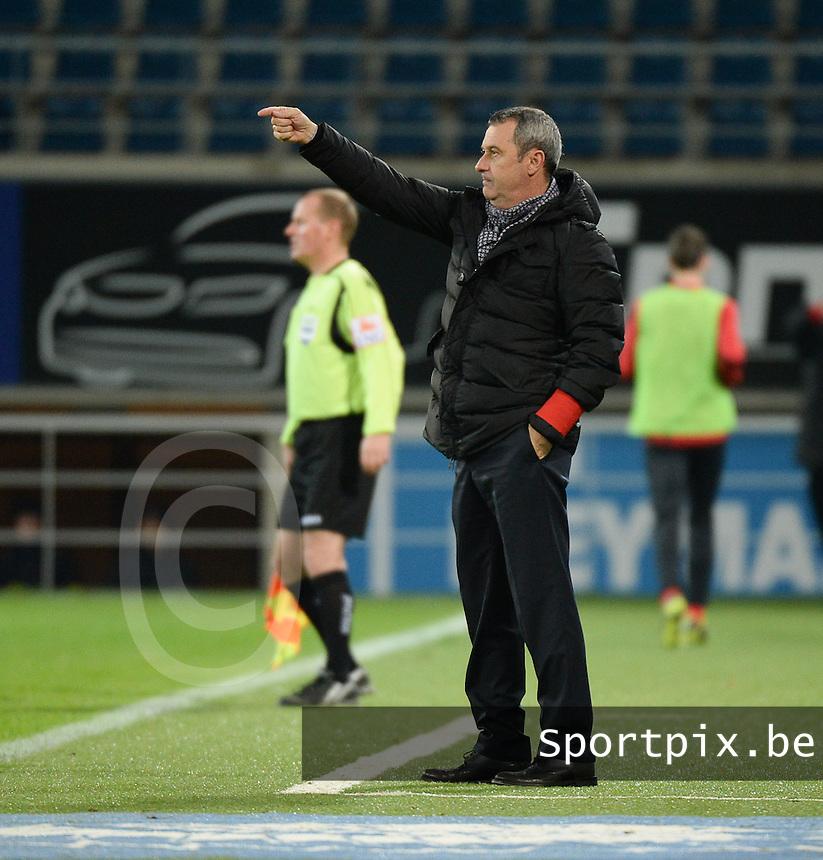 AA Gent - KV Kortrijk : Gent - coach Mircea Rednic<br /> foto VDB / Bart Vandenbroucke