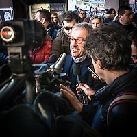 Lega Nord © Flavio Gilardoni-EffeEmmE<br /> <br /> 03/02/2013 Presentazione dei candidati lombardi della Lega Nord al Teatro Nazionale di Piazza San Babila a Milano. Roberto Maroni.<br /> <br /> Lega Nord party show his candidates of Lombardy.