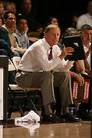 3 December 2005: John Dunning during Stanford's 3-1 loss to Santa Clara University at Maples Pavilion in Stanford, CA.
