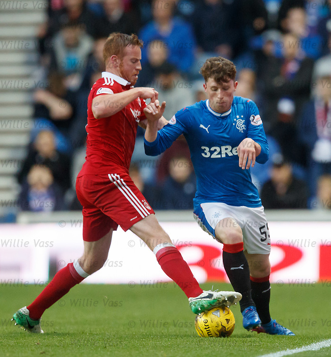 Adam Rooney and Jamie Barjonas