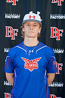 Sterling Sutcliffe during the Under Armour All-America Tournament powered by Baseball Factory on January 17, 2020 at Sloan Park in Mesa, Arizona.  (Mike Janes/Four Seam Images)