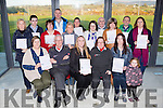 The Ballyduff First responders who received their certificates in Ballyduff Sports hall on friday evening front row l-r: Una O'Connor Donal McCarthy, Rose McNabb, Joan  Heapes, patricia Murphy and Saoirse Murphy. Back row: Norma doona, Shane murphy, Helena Kelliher, John Joe Murphy, Miriam Slattery, Mary mcCarrick, Patricia McCarthhy, jerimiah Murphy, Kay Murphy, Shane O'Riordan and Marie Cleverly