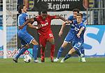 Florian Grillitsch (TSG 1899 Hoffenheim), Joao Ricardo Pereira Queiros (1.FC Köln), Benjamin Hübner (TSG 1899 Hoffenheim) und Christoph Baumgartner (TSG 1899 Hoffenheim)<br /> <br /> Foto: POOLFOTO/Avanti/Ralf Poller/PIX-Sportfotos.<br /> TSG 1899 Hoffenheim-1. FC Koeln.<br /> Sinsheim,  GER, 27.05.2020 , 28. Spieltag , Fussball 1. Bundesliga 2019/2020.<br /> <br /> Sport: Fussball: LIGA: Saison 19/20: TSG 1899 Hoffenheim- 1.FC Koeln, 27.05.2020.<br /> Foto: RALF POLLER/AVANTI/POOL<br /> <br /> Nur für journalistische Zwecke! Only for editorial use! <br /> Gemäß den Vorgaben der DFL Deutsche Fußball Liga ist es untersagt, in dem Stadion und/oder vom Spiel angefertigte Fotoaufnahmen in Form von Sequenzbildern und/oder videoähnlichen Fotostrecken zu verwerten bzw. verwerten zu lassen. DFL regulations prohibit any use of photographs as image sequences and/or quasi-video.