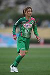 Natsuko Hara (Beleza), .MARCH 23, 2013 - Football /Soccer : .Plenus Nadeshiko League 2013 .between NTV Beleza 2-0 FC Kibikokusaidaigaku Charme .at Ajinomoto Stadium West Field, Tokyo, Japan. .(Photo by YUTAKA/AFLO SPORT) [1040]