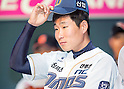 Lee Jae-Hak, Mar 28, 2016 : South Korean baseball team NC Dinos' starting pitcher Lee Jae-Hak attends a media day and fanfest of 10 clubs in the Korea Baseball Organization (KBO) in Seoul, South Korea. (Photo by Lee Jae-Won/AFLO) (SOUTH KOREA)