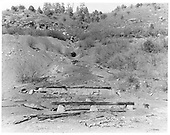 Calumet Coal Mine remains in Perins City, CO.<br /> RGS  Perins City, CO  Taken by Payne, Andy M. - 5/26/1968