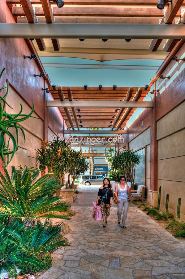 """The Village"", El Paseo Drive; Palm Desert; CA; Shoppers; retailers; fashion; haute couture;"