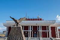 Mongolia, Bayan-Ulgii, Ulgii, town.