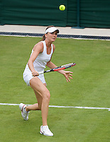 ..Tennis - Wimbledon - Day 1 - Mon 22nd June 2009 - All England Lawn Tennis Club  - Wimbledon - London - United Kingdom..Frey Images, Barry House, 20-22 Worple Road, London, SW19 4DH.Tel - +44 20 8947 0100.Cell - +44 7843 383 012..Tennis - Wimbledon - Day 1 - Monday 22nd June 2009 - All England Lawn Tennis Club  - Wimbledon - London - United Kingdom..Frey Images, Barry House, 20-22 Worple Road, London, SW19 4DH.Tel - +44 20 8947 0100.Cell - +44 7843 383 012Daniela Hantuchova (SVK) against  Laura Robson (GBR) in the first round of the Ladies Singles. Hantuchova beat Robson 3-6 6-4 6-2