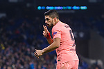 Luis Suarez of FC Barcelona celebrates his goal during the La Liga 2018-19 match between RDC Espanyol and FC Barcelona at Camp Nou on 08 December 2018 in Barcelona, Spain. Photo by Vicens Gimenez / Power Sport Images
