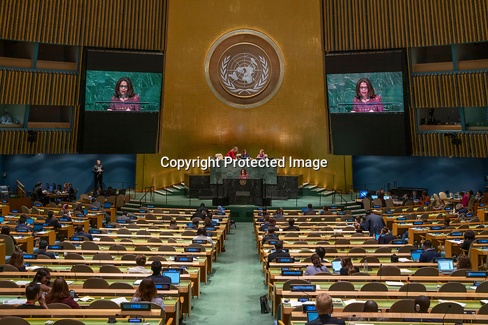 General Assembly: 16th meeting<br /> <br /> Her Excellency Maria Helena PIRES Chair of Delegation of Timor-Leste