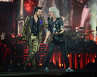 AUG 18 Queen and Adam Lambert perform at The BB&T Center, Florida